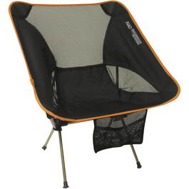 Black/Orange Nano Featherweight Camping Chair thumb