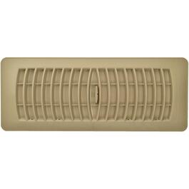 "4"" x 12"" Taupe Poly Floor Diffuser thumb"