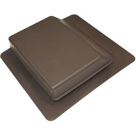 Brown Plastic Slant Back Roof Vent thumb