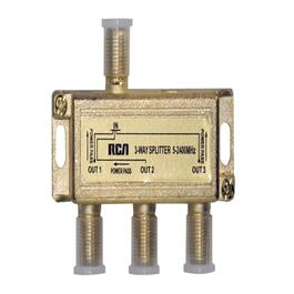 3-Way 2.4Ghz Satellite Coax Splitter thumb