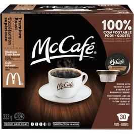 30 Pack Single Serve McCafe  Medium-Dark Premium Roast Coffee Cups thumb