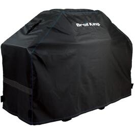 "58"" X 21.5"" X 46"" PVC Barbecue Cover, with Polyester Backing thumb"