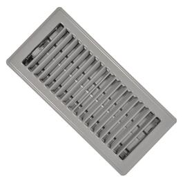 "4"" x 10"" Grey Floor Diffuser thumb"