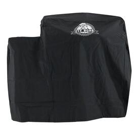 Black Polyester/PVC Barbecue Cover thumb