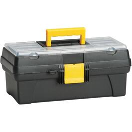 "14"" x 8"" x 6"" Tool Box, with Plastic Tray thumb"