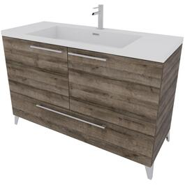 "48"" x 19"" Malea Cassis 2 Door/1 Drawer Vanity thumb"
