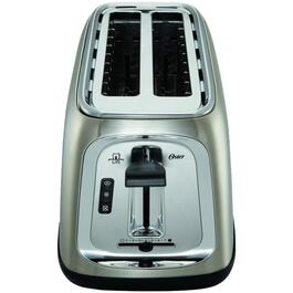 4 Slice Stainless Steel Toaster, with Extra Wide/Long Slots thumb
