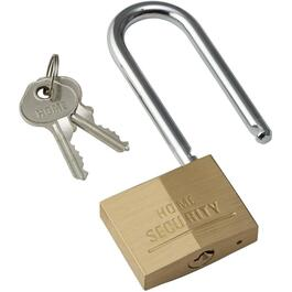 "2"" Brass Padlock, with 3"" Shackle thumb"