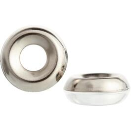 #8 Nickel-Plated Steel Finish Washer thumb