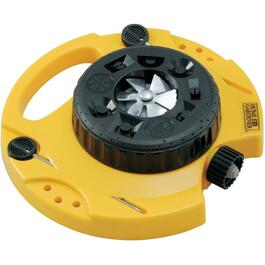 9-In-1 Poly Turret Lawn Sprinkler thumb