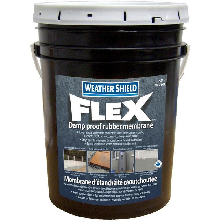 WEATHER SHIELD 18 9L Flex Rubber Membrane Coating