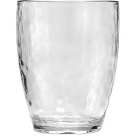 16oz Hammered Clear Double Old Fashioned Tumbler thumb