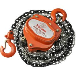 2 Ton 10' Safe Working Load Chain Hoist thumb