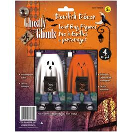 Plastic Halloween Themed Lawn Bag, Assorted Designs thumb