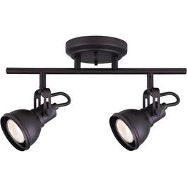 Polo 2 Light Oil Rubbed Bronze Track Light Fixture thumb