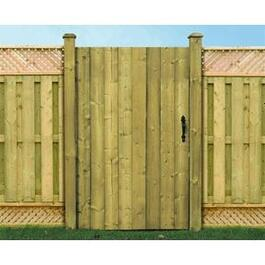 4' Pressure Treated Jasper Gate Fence Package thumb