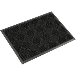 "23"" x 33"" Charcoal Rubber Door Mat thumb"