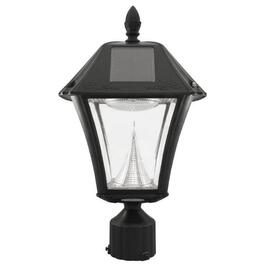 Black Baytown Solar Lamp, with Three Mounting Options thumb