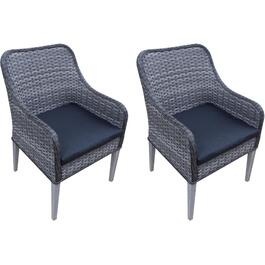 2 Pack Heritage Wicker Dining Chairs thumb