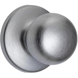 Satin Chrome Fairfax Passage Door Knobset thumb