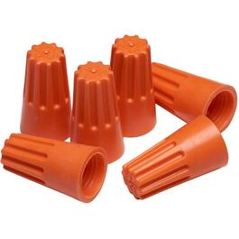 100 Pack Small Orange Twist Connectors thumb