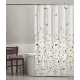 "70"" x 72"" Garden Flight Peva Shower Curtain thumb"