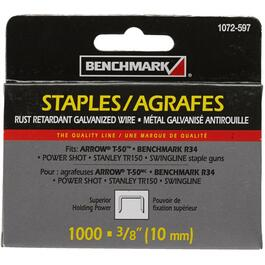 "1000 Pack 3/8"" Staples, for T50 Stapler thumb"