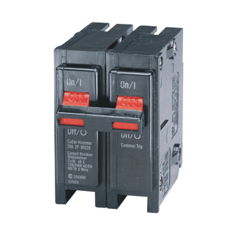 Eaton 2 Pole 20 Amp Circuit Breaker Home Hardware Canada House Fuse Box Amps 10000 15