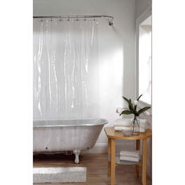 "70"" x 72"" Clear Peva Shower Curtain/Liner thumb"