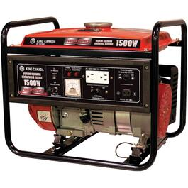 1,500 Watt Portable Gas Generator thumb
