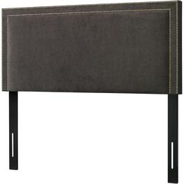 Slate Velvet Queen Headboard thumb