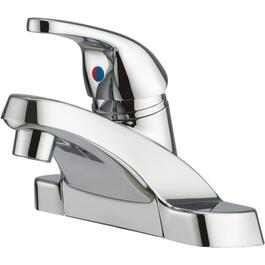 Chrome Single Lever Lavatory Faucet thumb