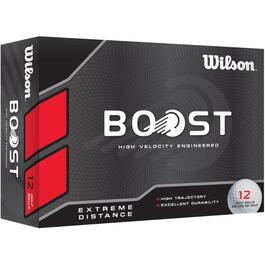 12 Pack Boost Golf Balls with HH Logo thumb
