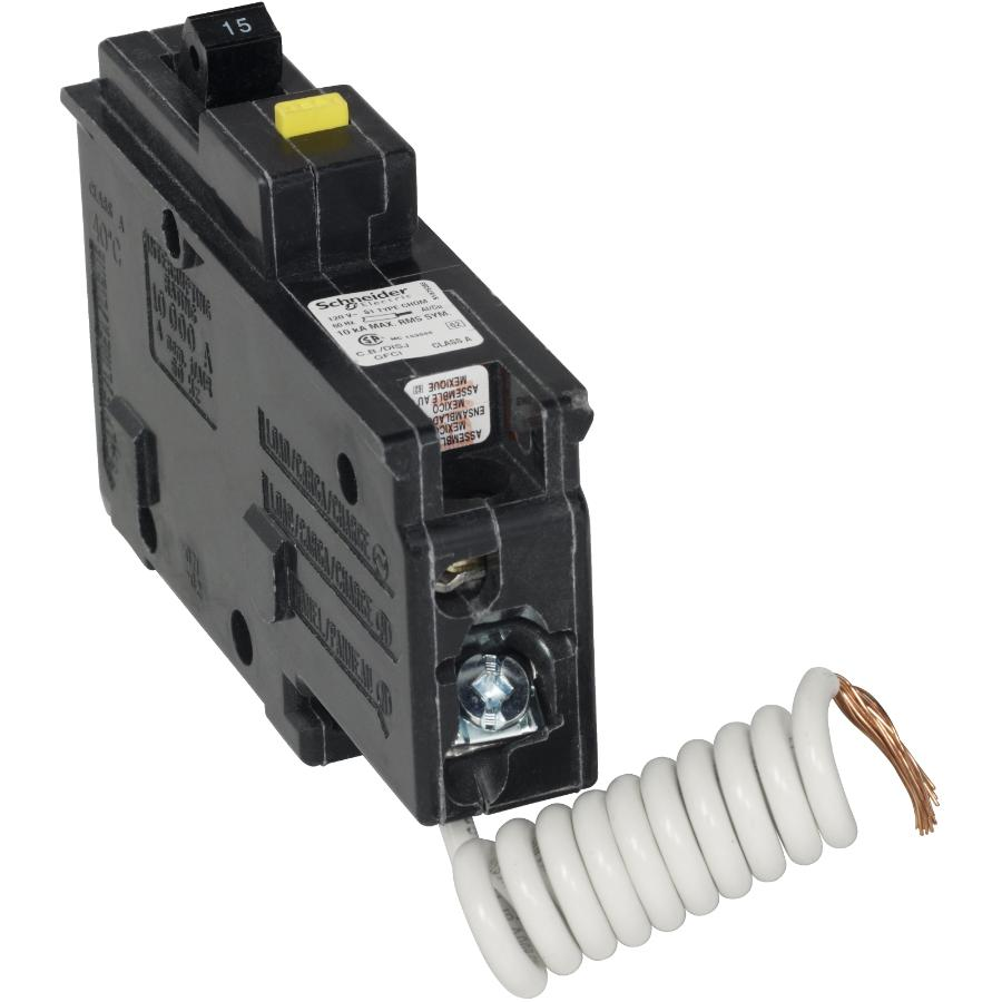 Federal Pioneer 15 Amp Single Pole Gfi Circuit Breaker Home Tripping Unit Of Plug On