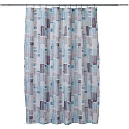 "70"" x 72"" Urban City Polyester Shower Curtain thumb"