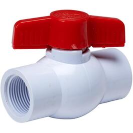 "1"" Threaded PVC Ball Valve thumb"