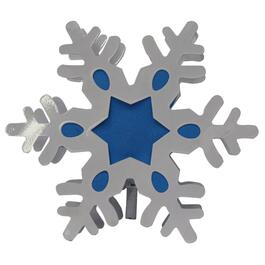 Multicolour Snowflake Projector Tree Topper thumb