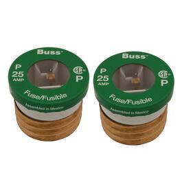 2 pack 25 amp p plug fuses