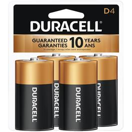 4 Pack Alkaline D Batteries thumb