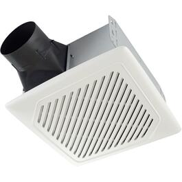 110 CFM 1.0 Sones Humidity Sensing Ceiling Vent Fan thumb