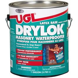 3.78L Grey Drylok Latex Waterproofer Paint thumb