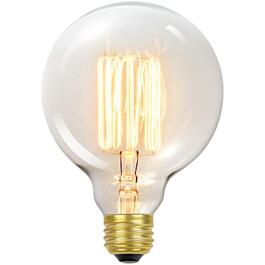 60W G30 Medium Base Vintage Edison Tinted Glass Light Bulb thumb
