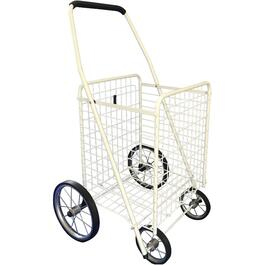 "23"" x 18-1/2"" x 34"" Medium 4 Wheel Shopping Cart, Assorted Colours thumb"