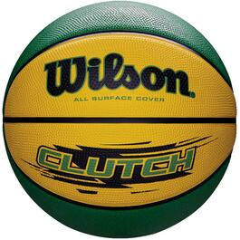 Yellow/Green Size 7 Clutch Basketball thumb