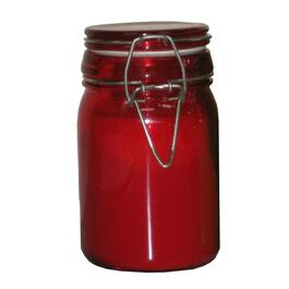 Citronella Mason Jar Candle, Assorted Colours thumb