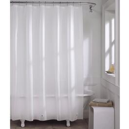 "70"" x 72"" Frosty Magnetic Peva Shower Curtain Liner thumb"