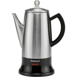 12 Cup Stainless Steel Cordless Coffee Percolator thumb