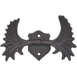 Cast Iron Moose Antlers Wall Hook thumb