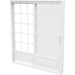 "6' x 6'8"" Operating Fixed 1+1 PVC Garden Door, with Grille thumb"