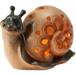 Solar Ceramic Animal Garden Statue, Assorted Designs thumb